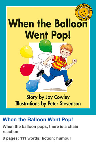 When the Balloon Goes Pop!