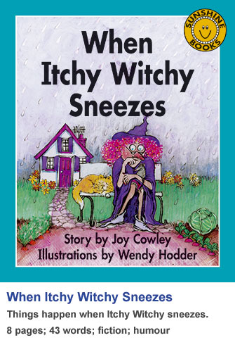 When Itchy Witchy Sneezes